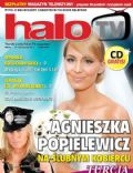 Agnieszka Popielewicz on the cover of Halo TV (United Kingdom) - August 2011