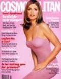 Cindy Crawford, Wayne Maser on the cover of Cosmopolitan (United States) - January 1998