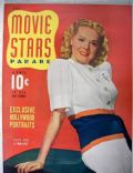 Alice Faye on the cover of Movie Stars (United States) - April 1941
