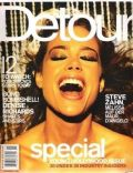 Denise Richards on the cover of Detour (United States) - November 1999