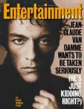 Jean-Claude Van Damme on the cover of Entertainment Weekly (United States) - January 1993