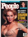 Sharon Stone on the cover of Entertainment Weekly (United States) - May 1993