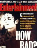 Michael Jackson on the cover of Entertainment Weekly (United States) - September 1993