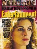 Julia Roberts on the cover of Entertainment Weekly (United States) - November 1993