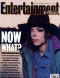 Michael Jackson on the cover of Entertainment Weekly (United States) - December 1993