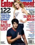 Brandon Routh on the cover of Entertainment Weekly (United States) - June 2005