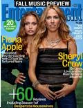 Sheryl Crow on the cover of Entertainment Weekly (United States) - September 2005