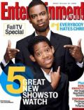 Chris Rock on the cover of Entertainment Weekly (United States) - October 2005