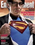 Brandon Routh on the cover of Entertainment Weekly (United States) - June 2006