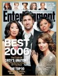 Ellen Pompeo on the cover of Entertainment Weekly (United States) - December 2006