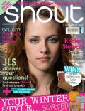 Kristen Stewart on the cover of Shout (United Kingdom) - November 2011