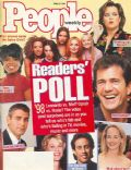 Emma Bunton, Geri Halliwell, Helen Hunt, Mel Gibson, Melanie Brown, Melanie Chisholm, Victoria Beckham on the cover of People Weekly (United States) - April 1998