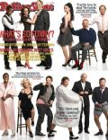 Amy Poehler, Billy Crystal, Chris Rock, David Letterman, Don Rickles, Jimmy Fallon, Larry David, Martin Short, Robin Williams, Sarah Silverman, Tina Fey, Tracy Morgan on the cover of Rolling Stone (United States) - September 2008