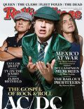 Angus Young, Brian Jones on the cover of Rolling Stone (United States) - November 2008