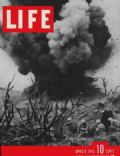 on the cover of Life (United States) - April 1945