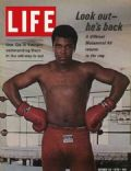 Muhammad Ali on the cover of Life (United States) - October 1970