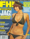 Catherine Bell on the cover of Fhm (United States) - July 2002