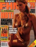 Amanda Righetti on the cover of Fhm (United States) - November 2005