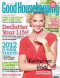 Katherine Heigl on the cover of Good Housekeeping (United Arab Emirates) - January 2012