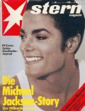 Michael Jackson on the cover of Stern (Germany) - November 1991