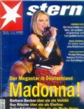 Madonna on the cover of Stern (Germany) - 2001