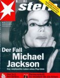 Michael Jackson on the cover of Stern (Germany) - November 2003