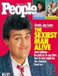 Jay Leno on the cover of People (United States) - November 1987