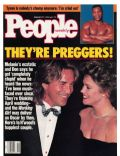 Don Johnson, Don Johnson and Melanie Griffith, Melanie Griffith on the cover of People (United States) - February 1989
