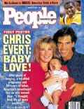Chris Evert on the cover of People (United States) - November 1991