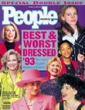 Candice Bergen, Hillary Rodham Clinton, Joan Rivers, Julia Roberts, Princess Diana, Sharon Stone, Will Smith on the cover of People (United States) - October 1993