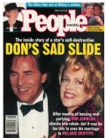 Don Johnson, Don Johnson and Melanie Griffith, Melanie Griffith on the cover of People (United States) - June 1994