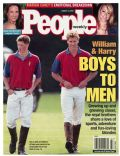 Prince Harry Windsor, Prince William Windsor on the cover of People (United States) - August 2001