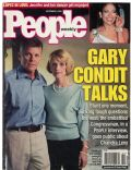 Gary Condit, Jennifer Lopez on the cover of People (United States) - September 2001