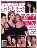 Courteney Cox, Jennifer Aniston, Lisa Kudrow on the cover of People (United States) - September 2001
