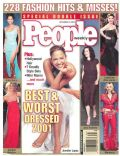 Melissa Joan Hart on the cover of People (United States) - September 2001