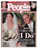 Cris Judd, Cris Judd and Jennifer Lopez, Jennifer Lopez on the cover of People (United States) - October 2001