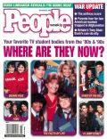 Holly Robinson Peete, Holly Robinson-Peete and Johnny Depp, Johnny Depp, Lee Curreri, Mark-Paul Gosselaar, Nancy McKeon, Sarah Jessica Parker on the cover of People (United States) - October 2001