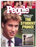 Prince William Windsor on the cover of People (United States) - November 2001