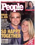 Brad Pitt on the cover of People (United States) - December 2001
