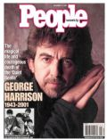 George Harrison on the cover of People (United States) - December 2001