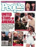 Faith Hill, Faith Hill and Tim McGraw, Jennifer Lopez, Julia Roberts, Tim McGraw, Tom Cruise on the cover of People (United States) - December 2001