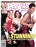 Denzel Washington, Halle Berry, Jodie Foster, Julia Roberts, Kate Winslet, Reese Witherspoon on the cover of People (United States) - April 2002