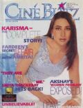 Karisma Kapoor on the cover of Cineblitz (India) - July 2001