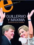 King Willem-Alexander, Princess Máxima of the Netherlands on the cover of Expresiones (Ecuador) - May 2013