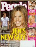 Jennifer Aniston, Jennifer Aniston and Paul Sculfor, Paul Sculfor on the cover of People (United States) - June 2007