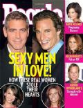 Camila Alves, George Clooney, George Clooney and Sarah Larson, Matthew McConaughey, Matthew McConaughey and Camilla Alves, Sarah Larson on the cover of People (United States) - October 2007