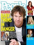 Dennis Quaid on the cover of People (United States) - December 2007