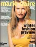 Claudia Schiffer, Wayne Maser on the cover of Marie Claire (Australia) - February 2000