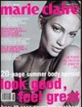 Jennifer Lopez, Wayne Maser on the cover of Marie Claire (Australia) - November 2000