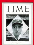 Joe DiMaggio on the cover of Time (United States) - October 1948